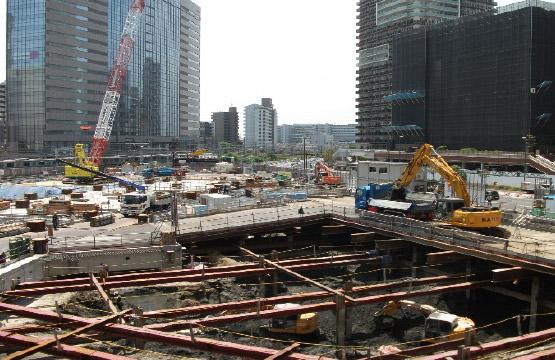 川崎駅西口再開発