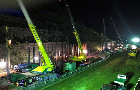 東海北陸道災害復旧工事